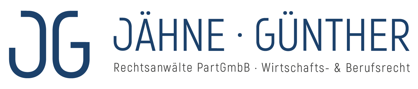 Jähne · Günther · Rechtsanwälte PartGmbB